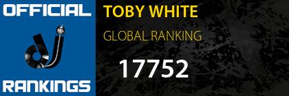 TOBY WHITE GLOBAL RANKING