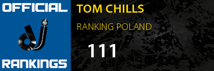TOM CHILLS RANKING POLAND