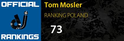 Tom Mosler RANKING POLAND