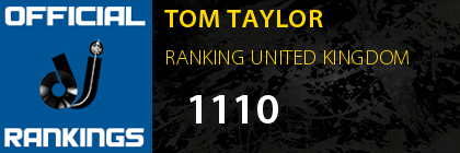 TOM TAYLOR RANKING UNITED KINGDOM