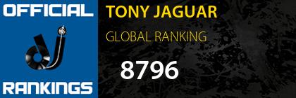 TONY JAGUAR GLOBAL RANKING