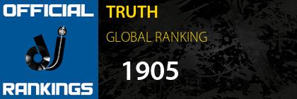 TRUTH GLOBAL RANKING