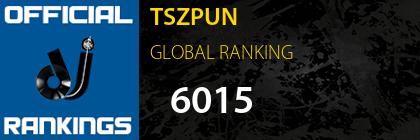 TSZPUN GLOBAL RANKING