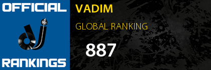 VADIM GLOBAL RANKING