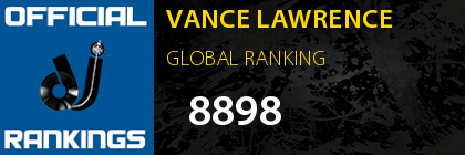 VANCE LAWRENCE GLOBAL RANKING