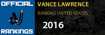 VANCE LAWRENCE RANKING UNITED STATES