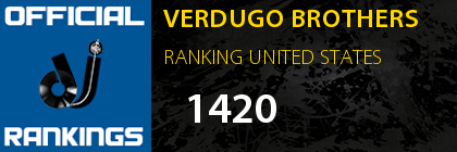 VERDUGO BROTHERS RANKING UNITED STATES