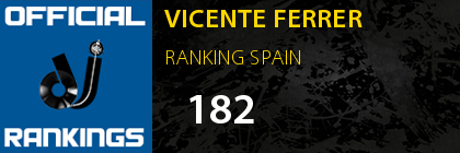 VICENTE FERRER RANKING SPAIN