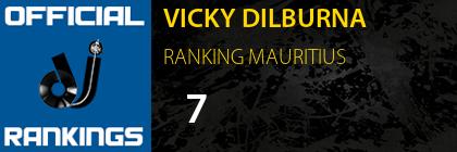 VICKY DILBURNA RANKING MAURITIUS