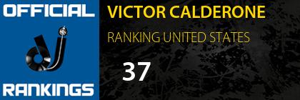 VICTOR CALDERONE RANKING UNITED STATES
