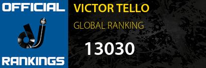 VICTOR TELLO GLOBAL RANKING