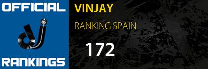 VINJAY RANKING SPAIN
