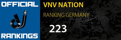 VNV NATION RANKING GERMANY