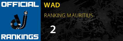 WAD RANKING MAURITIUS