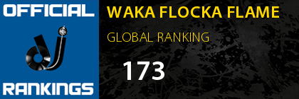 WAKA FLOCKA FLAME GLOBAL RANKING