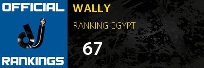WALLY RANKING EGYPT