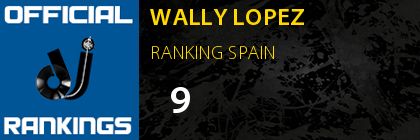 WALLY LOPEZ RANKING SPAIN