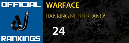 WARFACE RANKING NETHERLANDS