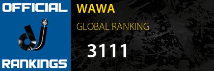 WAWA GLOBAL RANKING