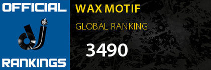 WAX MOTIF GLOBAL RANKING