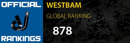 WESTBAM GLOBAL RANKING