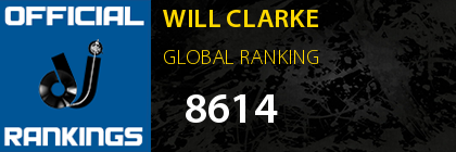 WILL CLARKE GLOBAL RANKING
