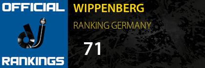 WIPPENBERG RANKING GERMANY