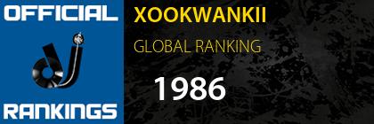 XOOKWANKII GLOBAL RANKING