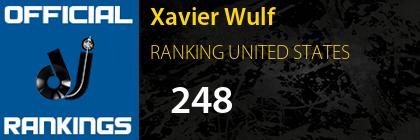 Xavier Wulf RANKING UNITED STATES