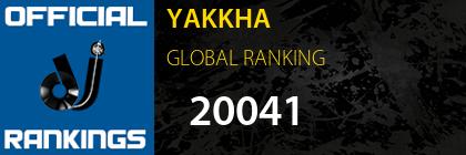 YAKKHA GLOBAL RANKING