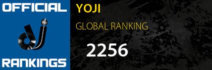 YOJI GLOBAL RANKING