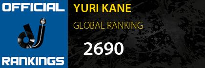 YURI KANE GLOBAL RANKING