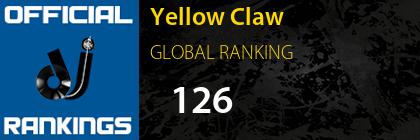 Yellow Claw GLOBAL RANKING