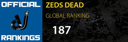 ZEDS DEAD GLOBAL RANKING