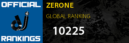 ZERONE GLOBAL RANKING
