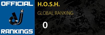 H.O.S.H. GLOBAL RANKING