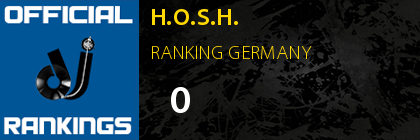 H.O.S.H. RANKING GERMANY
