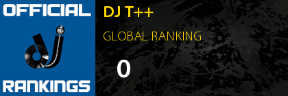 DJ T++ GLOBAL RANKING