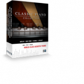 CLASSIC PIANO COLLECTION - 4 world-class acoustic pianos